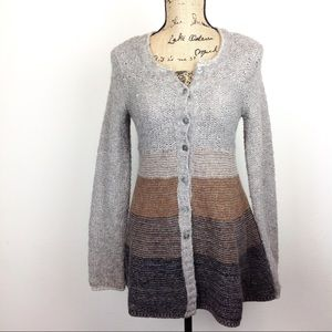Free People Wool Blend Cardigan Sweater S